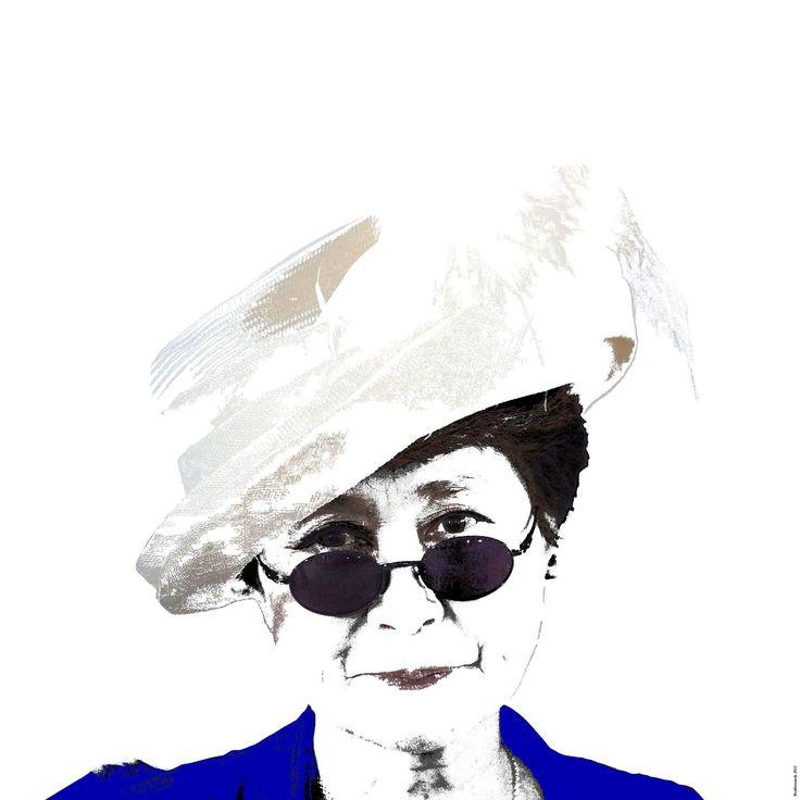 Graphics Yoko Ono (1)