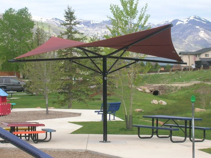 13 best steel pergola structures images on pinterest for Metal sun shade structures
