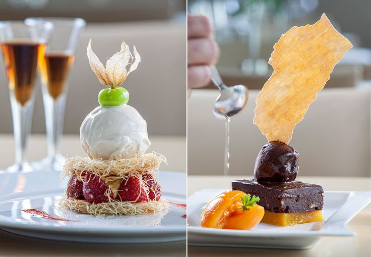 Having a dessert at the restaurants of #GalaxyHotelIraklio is a ritual to be enjoyed from the first bite! As for choosing from the dessert menu, this is the hardest part. Enjoy a #strawberry and a halva, cream #kataifi or a #chocolate temptation with oranges! More photos at http://goo.gl/xzhzg1. #Crete #Greece #delicious #food #lfeincrete #Heraklion #yummy #delicacies #visitgreece