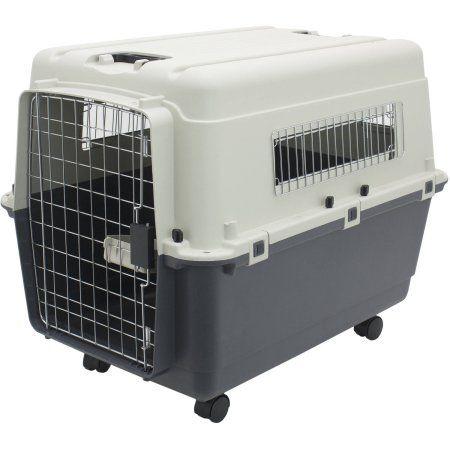 Kennels Direct Premium Plastic Dog Kennel, Large, Beige
