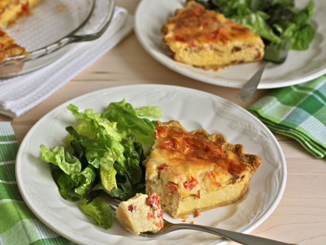 ... + images about Quiche on Pinterest | Bacon quiche, Bacon and Spinach