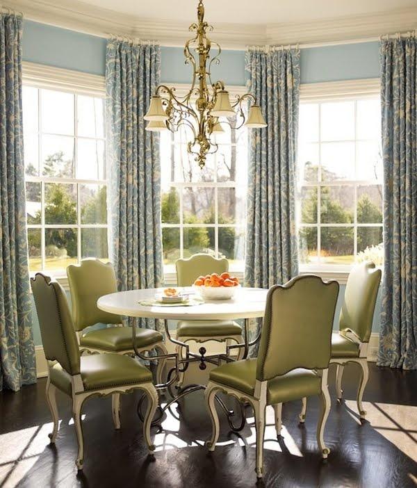like the curtain rod placement kitchen bay window windowsbay