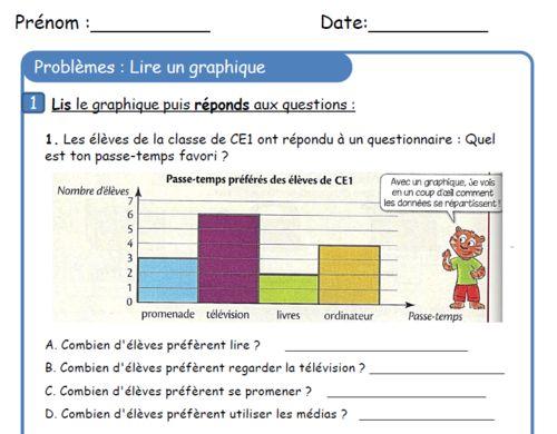 CE1 - Fichier de problèmes - (page 2) - L'école de Crevette