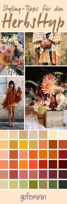 Wunderschöner Herbsttyp: Mit diesen Farben & diesem WOW-Styling wird dein Look…
