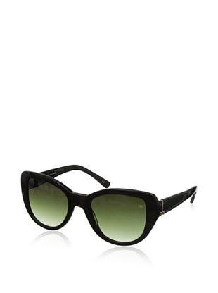 64% OFF Nina Ricci Women's NR3734 Sunglasses, Black/Green