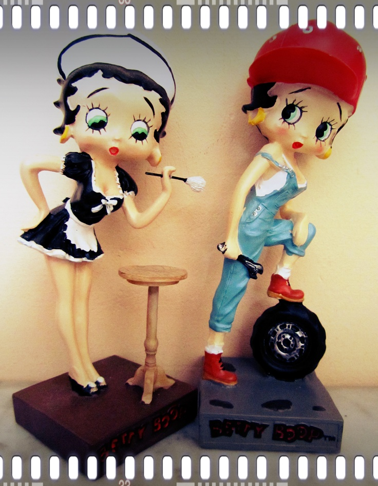 Betty Boop - ooooh, want these too, especially the Maid!