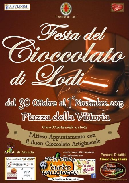 La Festa del Cioccolato dal 30 ottobre al 1 novembre Lodi