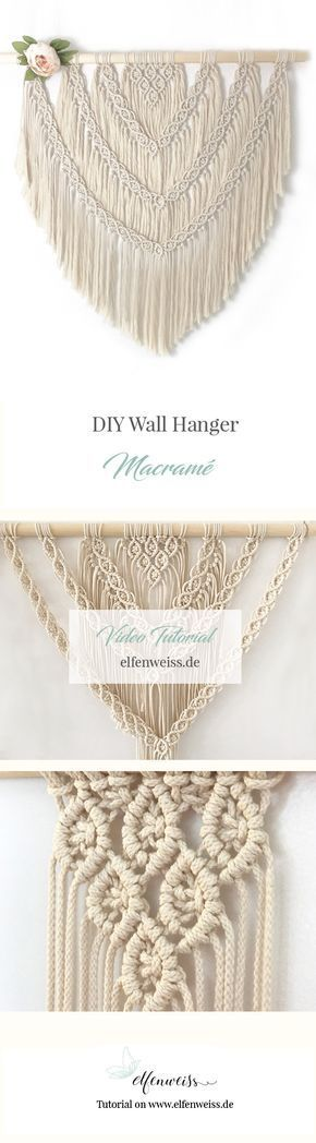 DIY Boho Macramé Wall Hanger – Part II