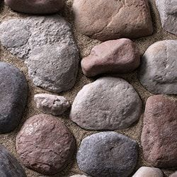 Kodiak Mountain Stone Manufactured  Stone Veneer - River Rock Thin Stone