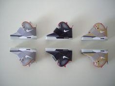 Origami Nike Air Yeezy Sneakers (By Filippo Perin) #sneakers