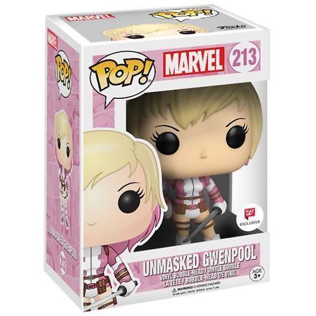 Funko Pop! Marvel: Unmasked Gwenpool - 1 Ea