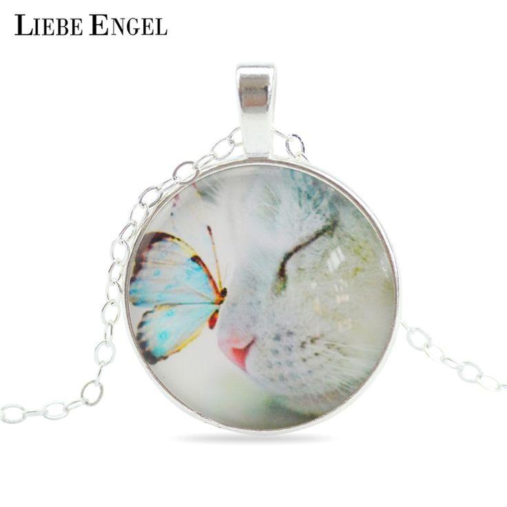 Vintage Fine Jewelry Glass Cabochon Necklace