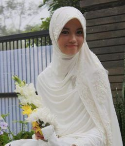 For Muslimah in her wedding,
