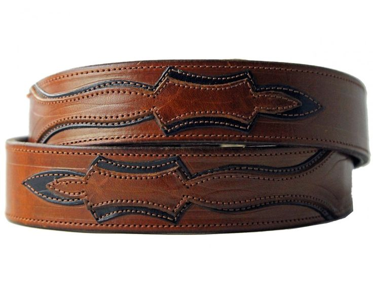 Double stud leather belt MICHAEL COX Sfu6R8KQXN