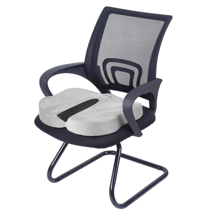 COCCYX Tailbone ORTHOPEDIC Seat Comfort Memory Foam Car Office Chair Cushion  New