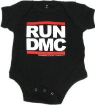 Sourpuss Kids RUN DMC Baby Onesie