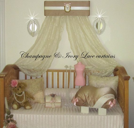 429 best images about bed canopies on pinterest canopy for Nursery crown canopy