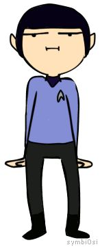 spock is dancing and words have failed me