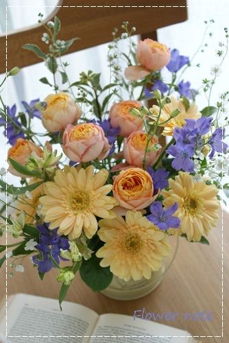 【今日の贈花】先生!「また会いましょう」http://ameblo.jp/flower-note/entry-11521535236.html