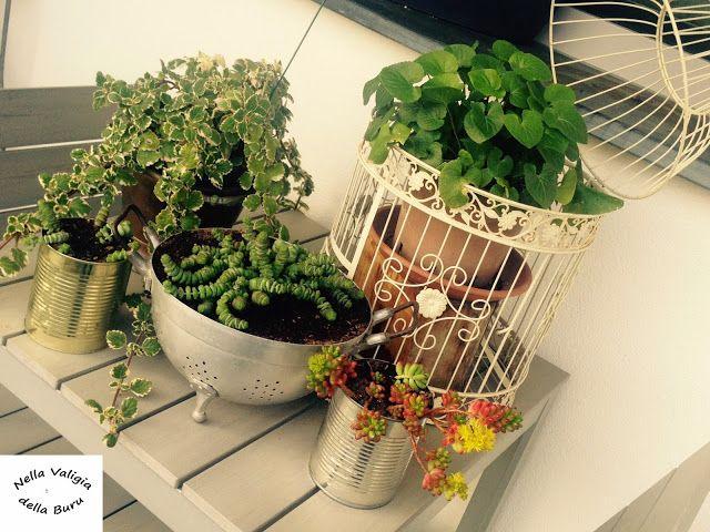 Oltre 25 fantastiche idee su giardino riciclato su - Divanetto da balcone ...