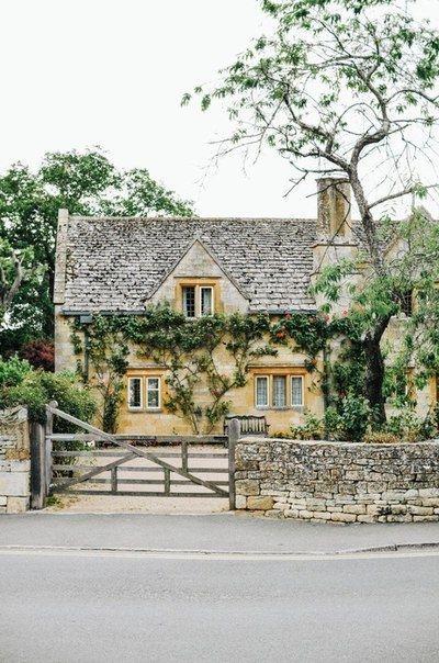 Деревушка в Котсуолд-Хилс, Англия - Путешествуем вместе