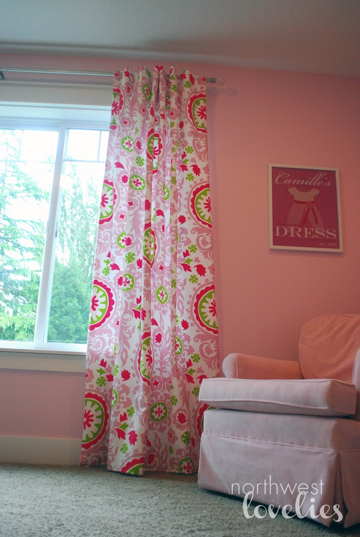 1000 ideas about girls room curtains on pinterest for Cute curtain ideas for living room