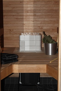 Nuoska sauna heater. VillaKoira: Hot hot hotter than...