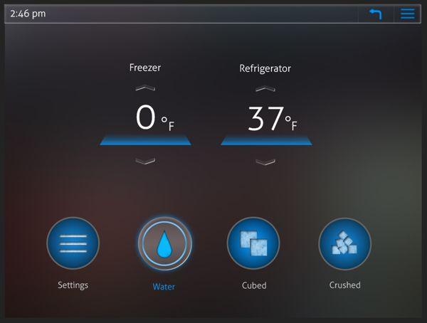 Refrigerator Interface on Behance