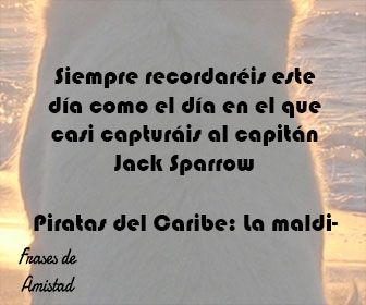 Frases de peliculas infantiles de Piratas del Caribe: La maldición de la Perla negra (2003)