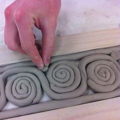Ceramics1. Coil pot. (This woman's whole site is amazing! makesme want to create my own website like a portfolio)