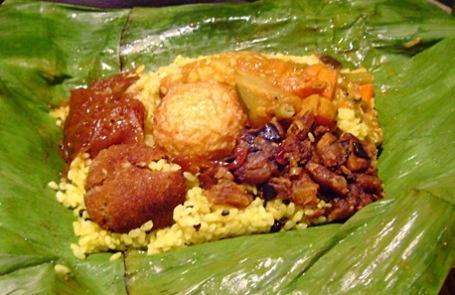 Sigiri in east village chicken lamprais drool lamprais for Authentic sri lankan cuisine
