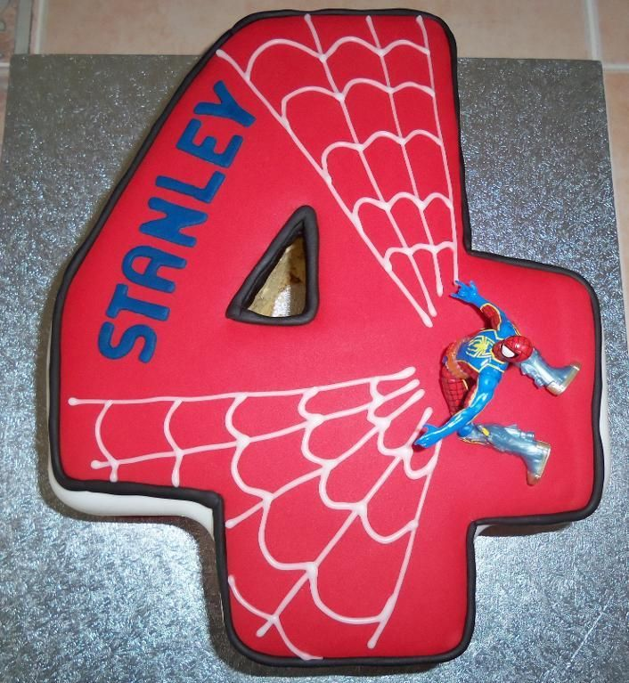 Attempting to make this cake for Evan's 4th bday!!! spiderman cake | Cake Decorating Ideas | Project on Craftsy: Spiderman Cake