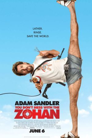 Don't Mess With the Zohan.     The ONLY Adam Sandler movie on this list.  But I love it!