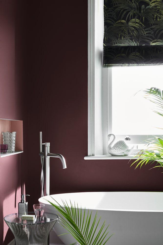 Wandfarben Das sind die Herbst-Trends Lilac Walls - LILA WÄNDE