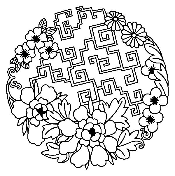 70 best Asia Ornaments images on Pinterest Asia, Ornament and - fresh detailed peacock coloring pages