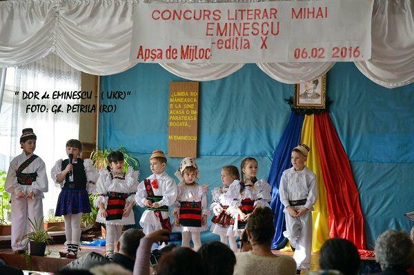 La școala din Apșa de Mijloc, localitate românească din Regiunea Transcarpatia - Maramuresul Istoric (Ucraina), a avut loc cea de-a zecea ediție a Con...