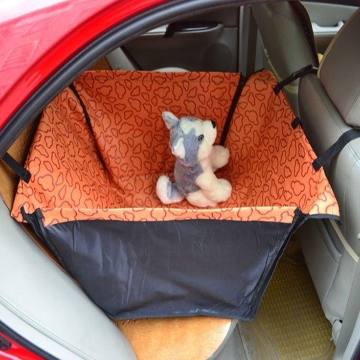 Pet Dog Cat Waterproof Car Seat Cover Mat Blanket Cradle