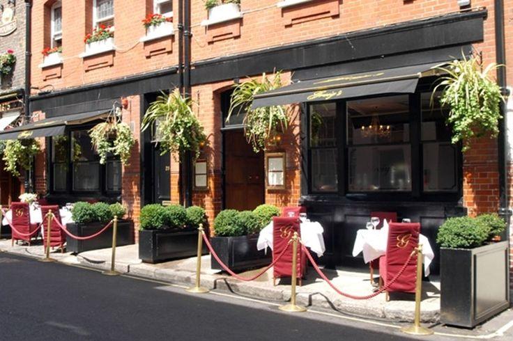 Greig's Grill & Restaurant, Mayfair. 4.5 stars. 50% off food.