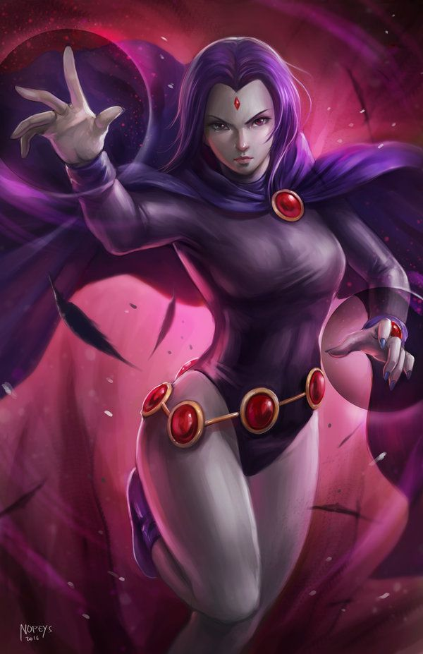 Raven Of The Teen Titans 49