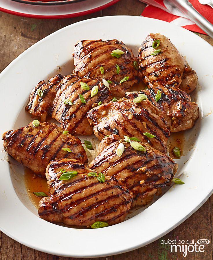 Poulet teriyaki rapide et facile à emporter #recette