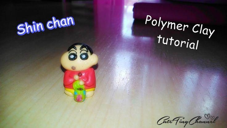 Shin Chan: Polymer Clay Miniature Tutorial