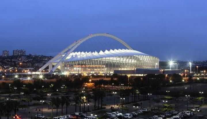 Moses Mabhida Stadium in Durban, KwaZulu Natal, South Africa.