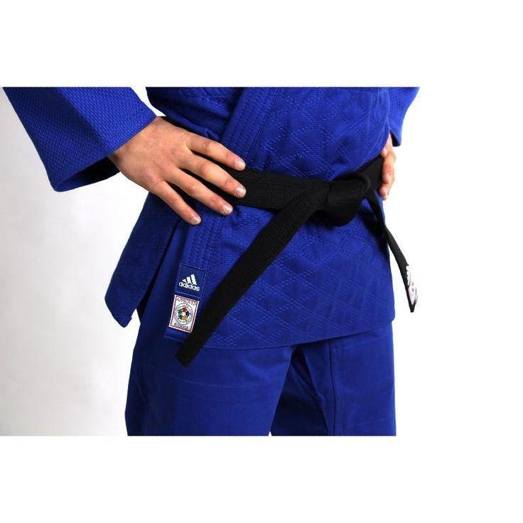 Kimono de judo adidas IJF 2015 bleu