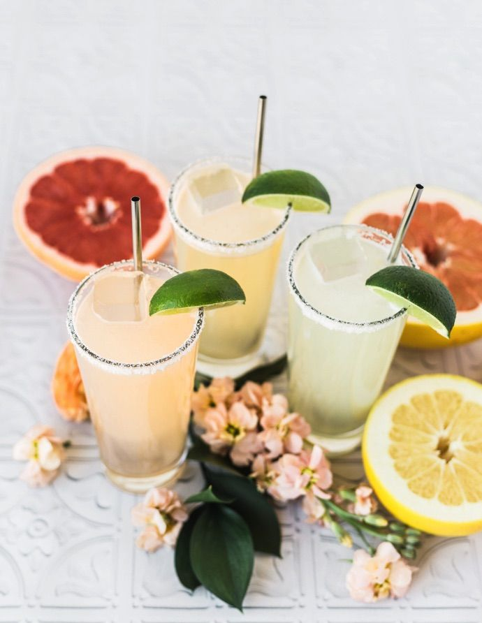 Favorite spring cocktail filled with fresh ingredients in season at your local farmers' market