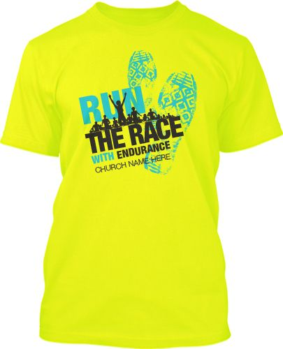 5k Run Race Shoes Tracks Group T Shirt Design