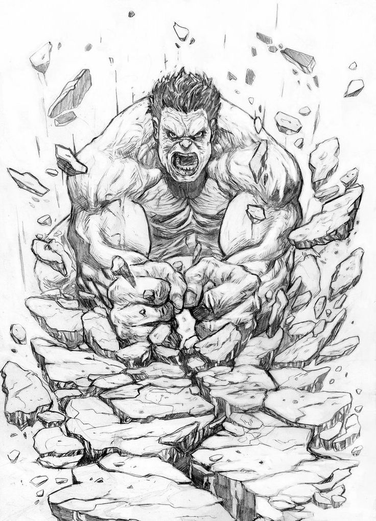 Hulk by ~Mar11co on deviantART