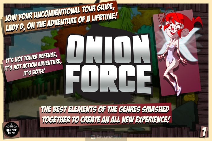 All the kings are dead… except one... Onion Force is a hybrid Tower Defense/Action Adventure game with 30 levels of butt-puckering mayhem! Use cunning and strategy to strengthen your team chosen from a diverse cast of characters, and hang on to your seat as you try to save the last king from his doom! More: http://games.giveaway-club.com/promotions/311