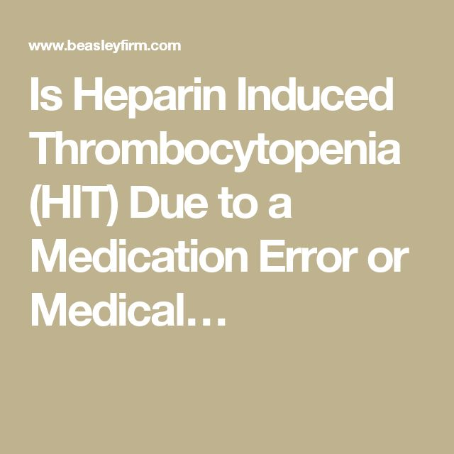 Thesis on heparin