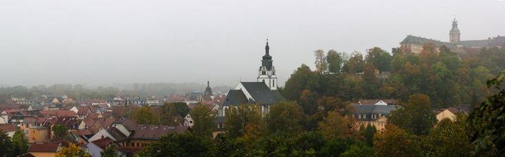 Panorama von Rudolstadt