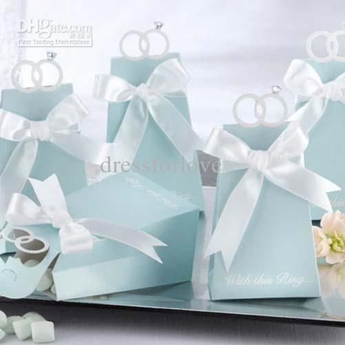 Wholesale With This Ring Elegant Icon Wedding Favor Box Bomboniere Gift Boxes Bridal Shower Favor, $0.33-0.42/Piece | DHgate